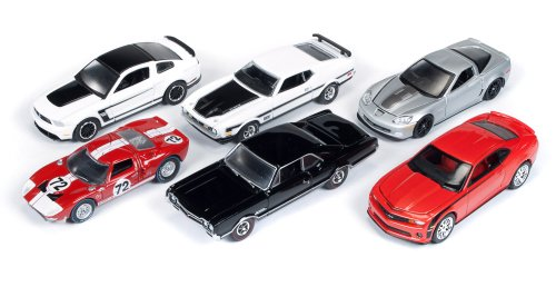 Autoworld Muscle Cars Release B 64003 Set Of 6 Cars 1/64 by Autoworld 64003B