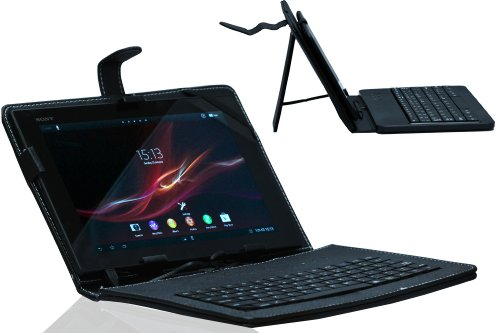 navitech-black-faux-leather-micro-usb-keyboard-case-cover-and-stand-for-android-tablets-sony-xperia-