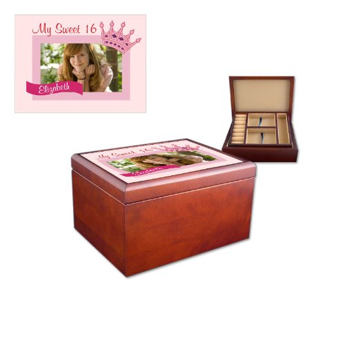 Sweet 16 Jewelry Photo Box