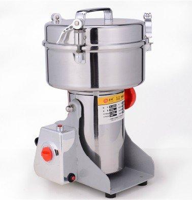 Brand New Family Stainless Steel Grain Mill Cereal Mill Herb Grinder Powder Machine , Pulverizer 1000G