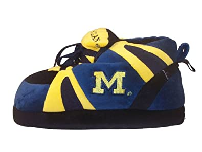 Happy Feet - Michigan Wolverines - Slippers - Small