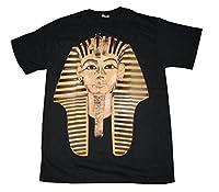 Pharaoh Gold King Tut Head Photo Mens Sneaker Streetwear T Shirt