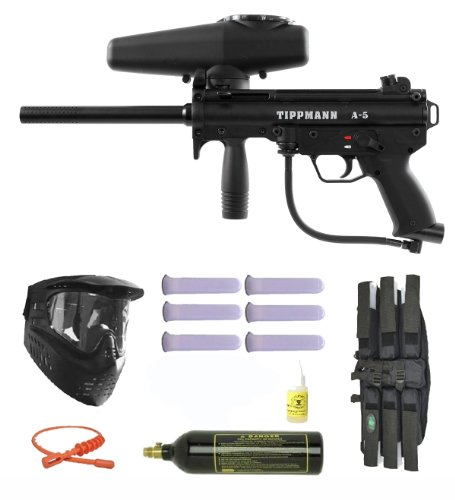 Tippmann A-5 w/ Selector Switch Paintball Marker Gun 3Skull
