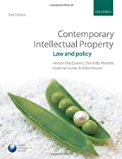 Contemporary Intellectual Property Law and Policy by Charlotte Waelde