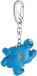 Sesame Street SW2501CM Cookie Monster Clip Watch Pocket Watch Chains
