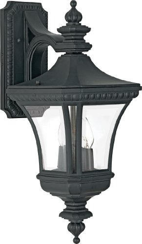 Quoizel DE8409K Devon 21-Inch H 2 Light Outdoor Wall Lantern (Outdoor Electical Outlet compare prices)