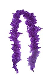 Theme My Party Feather Boa (Purple)