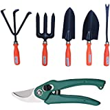 Truphe Gardening Tools Set With Cutter, Garden Tools Set
