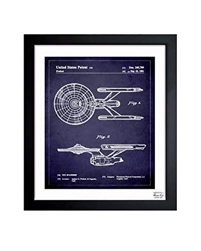 Oliver Gal Enterprise 1981 Framed Art