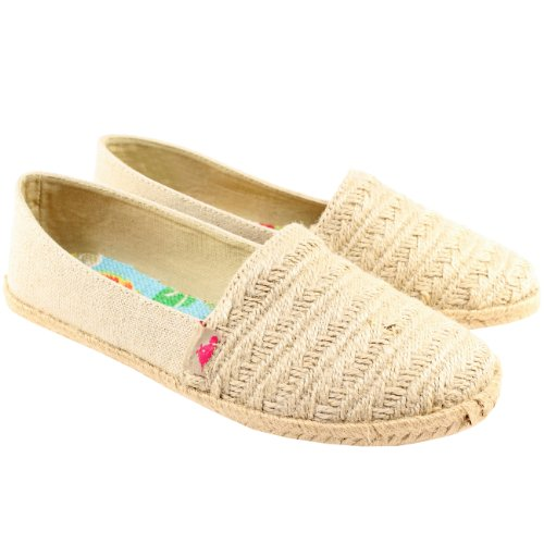 Womens Rocket Dog Costa Espadrille Flat Shoes