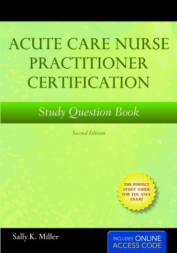 acute care nurse practitioner certification study book