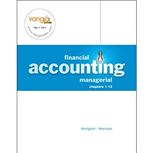 VangoNotes for Financial and Managerial Accounting, 1/e Volume 1 | [Walter T. Harrison Jr., Charles T. Horngren, Karen Braun]