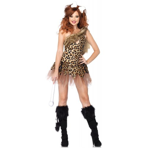 Cave Girl Cutie Costume - Small/Medium - Dress Size 4-8
