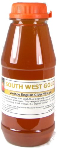 Apple Cider Vinegar Tonic with 'Mother' - 250ml Natural Organic Raw Unfiltered