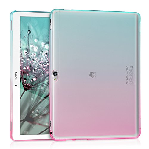 kwmobile Crystal case for Huawei MediaPad M2 10.0 TPU silicon case tablet protective case cover with Design two colours in...