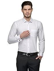 Harvest White 100 % Cotton Cufflink Shirt for Men