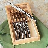 Jean Dubost Laguiole 6-Piece Steak Knives (Stainless Steel