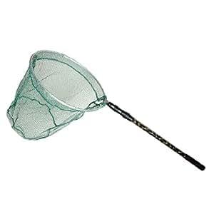 Folding round fishing landing net w 3 sections telescopic for Amazon fishing net