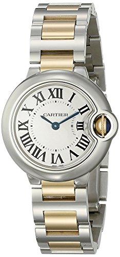 Cartier W69007Z3 - Orologio da polso da donna colore argento