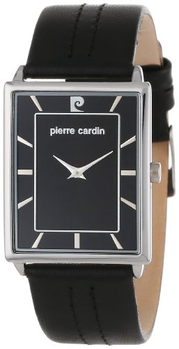 Pierre Cardin Men'S Pc900871001 Classic Analog Leather Band Watch
