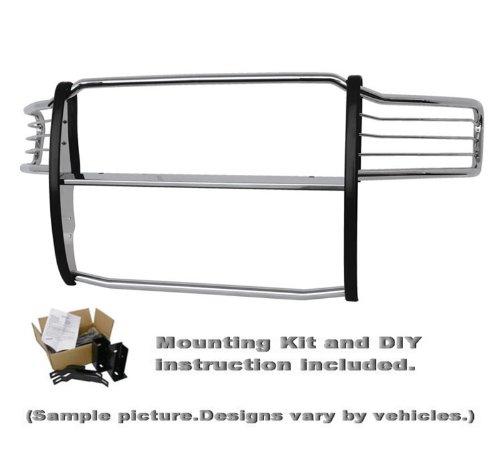 Fits 2011-2014 Chevy Silverado Sierra 2500 Stainless Bull Bar Bumper Brush Guard