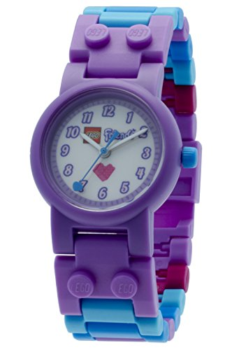 LEGO Friends Olivia watch with minifigure children's quartz Watch with multicolour Dial analogue Display and multicolour plastic Strap 8020165