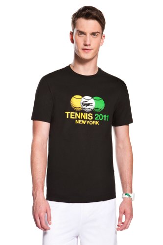 NY Tennis Crocodile and Tennis Ball T-Shirt