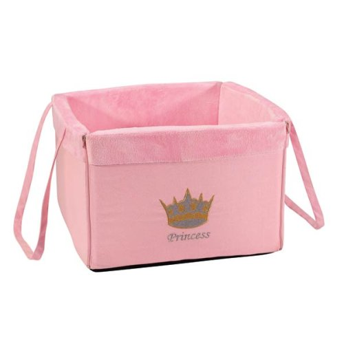 Toy Box For Dogs – Pet Storage Box – Pink