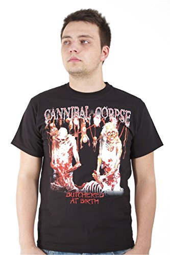 Cannibal Corpse -  T-shirt - Uomo nero Small