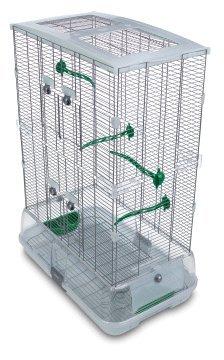 Hagen Vision Bird Cage for Canaries, Medium - Tall, Color:Green
