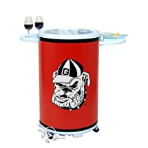 Georgia Bulldogs Entertainer / Party Cooler - CASE PACK OF 2