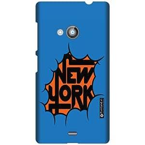 Printland Designer Back Cover For Nokia Lumia 535 - Heart Cases Cover