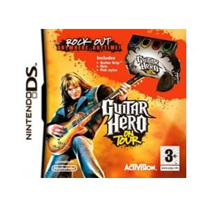 [Import Anglais]Guitar Hero On Tour Guitar Grip Bundle Game DS