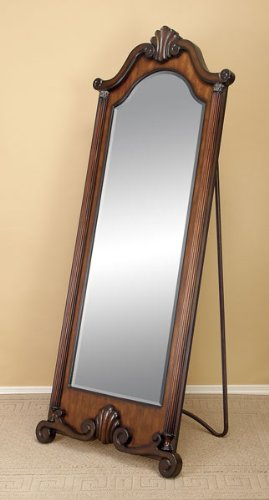 Black friday classy wood standing floor mirror cheap for Cheap floor mirrors