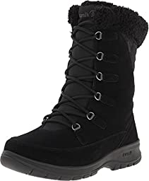 Kamik Women\'s Boston Snow Boot,Black,9 M US