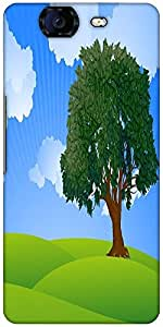 Snoogg The Tree Vector Designer Protective Back Case Cover For Micromax Canva...