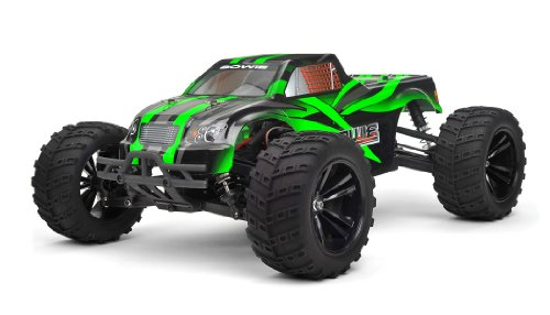 Iron Track RC Bowie 1:10 Scale 4WD Brushless Truck Almost Ready to Run (Green)