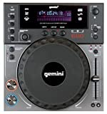 Gemini CDJ 600 Professional Table Top Cd Player with CD/MP3/USB Capabilities and Built in Scratch Effect