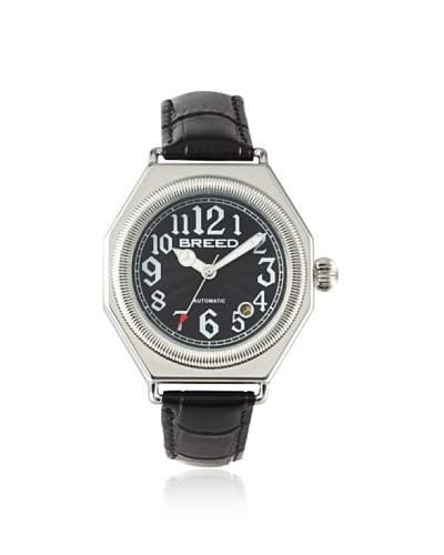 Breed Men's BRD1202 Arthur Black Steel Watch As You See