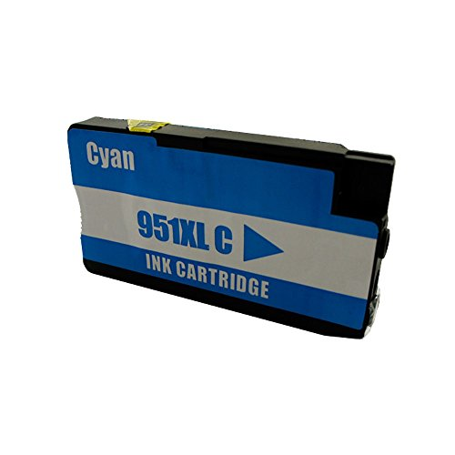 1 Druckerpatrone Tinte für HP Offiecejet Pro 8600 ersetzt HP 951XL CN046AE mit 27ml