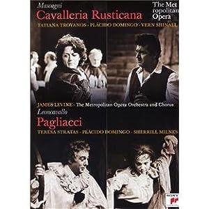 Cavalleria Rusticana/Pagliacci: The Metropolitan Opera (Levine) [DVD] [2011] [NTSC]