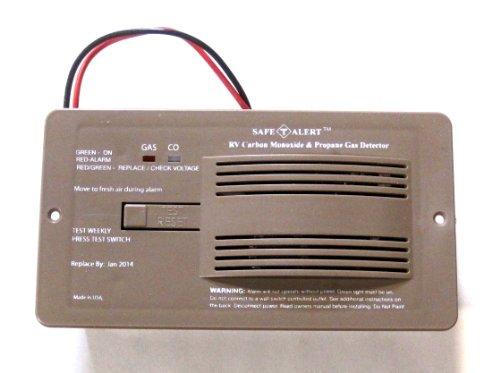 Rv Motorhome And Trailer 12v Co Carbon Monoxide Propane