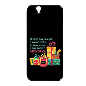 Vibhar printed case back cover for Sony Xperia Z ReturnMonday