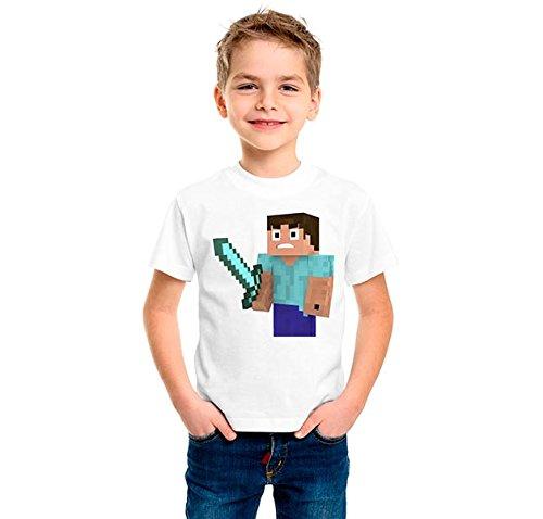 Camiseta-dibujo-Steve-personaje-de-minecraft-Tamaos-de-nio-y-tejido-algodn-100-Estampado-realizado-con-tintas-ecosolventes-y-se-puede-planchar-el-diseo-Talla-56-Blamco