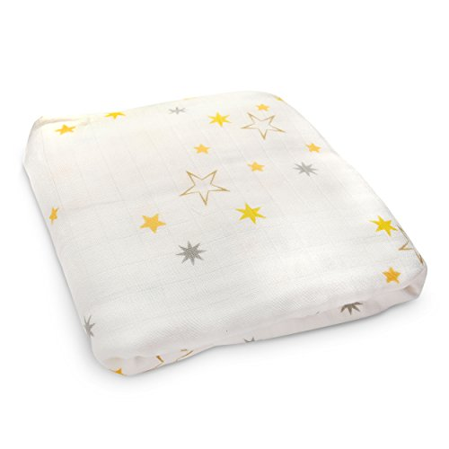 Brooklyn Bamboo Soft, Large Baby Quilt Blanket Breathable, Hypoallergenic Bamboo Boy Or Girl 47