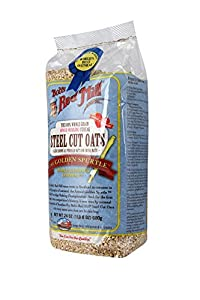 Bob's Red Mill Oats Steel Cut, 24-Ounce (Pack of 4)