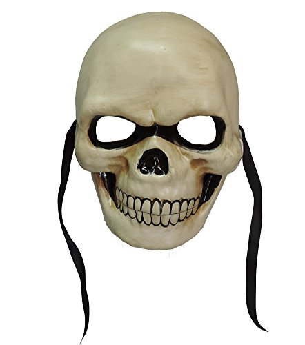 Day of the Dead Skull Skeleton Face Paper-mache Carnival Mask Wall Decoration