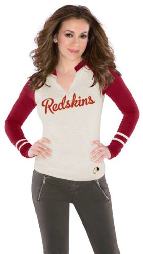 Touch by Alyssa Milano Washington Redskins Womens Sport Envy Top XX Large at Amazon.com