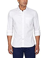 Punctuate Men's Casual Shirt (0666995108703_PNS161011_medium_White)