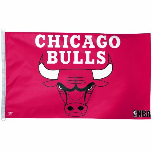 NBA Chicago Bulls 3-by-5 foot Flag